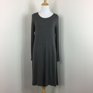 Eileen Fisher Long Sleeve Casual Maxi Dress Sz XS